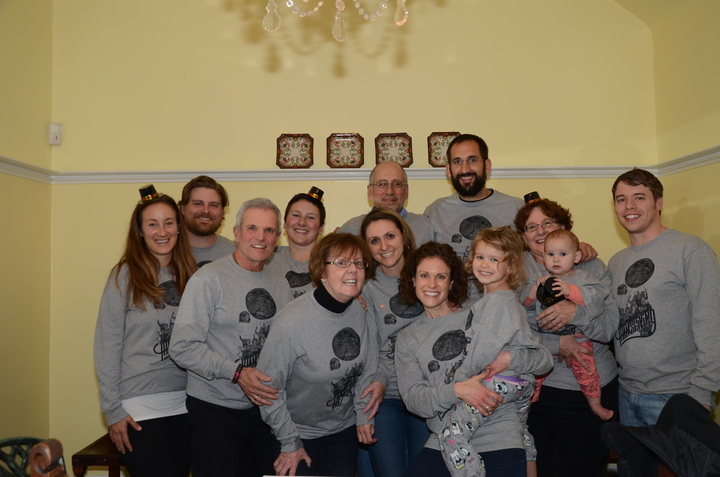 Goodrich Sheedy Family Thanksgiving Shenanigans T-Shirt Photo