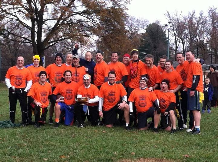 Sofa Wayne Wood Turkey Bowl Champs T-Shirt Photo