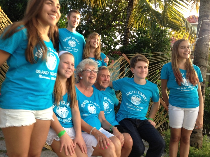 Smith Kids 2014 Bahamas Gathering T-Shirt Photo