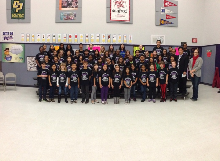 Manlio Silva Elementary School Choir T-Shirt Photo