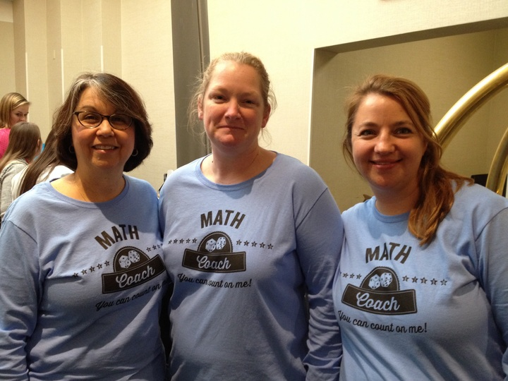 Math Coaches  T-Shirt Photo