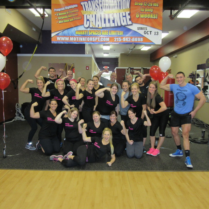 Motivators 6 Week Transformation Challenge Team T-Shirt Photo
