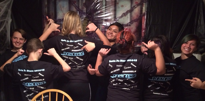 Santa Fe Stars Rather Be Dancing !!! T-Shirt Photo