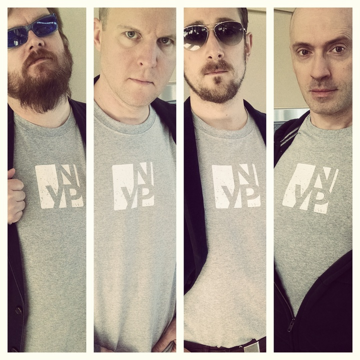 Two Time Grammy Nominees New York Polyphony Sport Their Swanky New Tees T-Shirt Photo