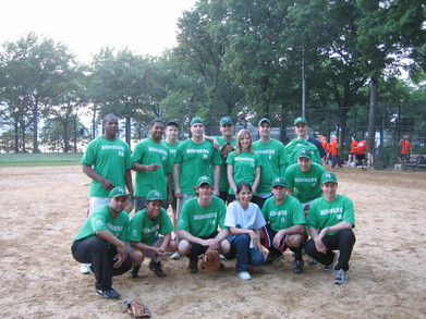 M&F Bombers Softball Team T-Shirt Photo