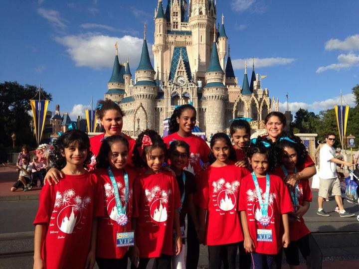 Rhythmic Arts In Disney T-Shirt Photo