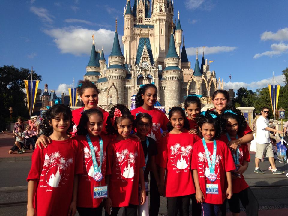 Custom T Shirts For Rhythmic Arts In Disney Shirt Design
