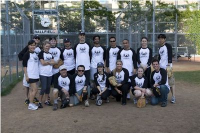 2008 Rockwell Group Softball Team T-Shirt Photo