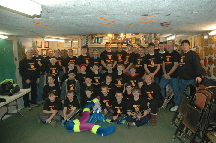 Troop 248 Haunted Cabin Staff T-Shirt Photo