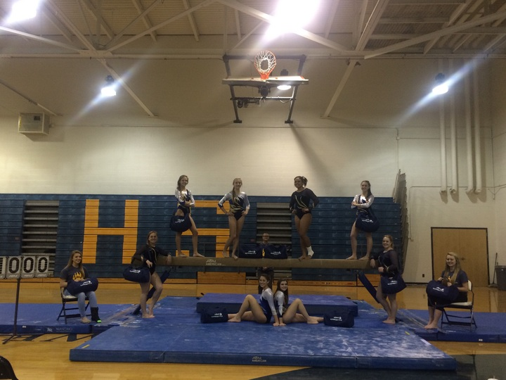 Wbhs Gymnastics T-Shirt Photo