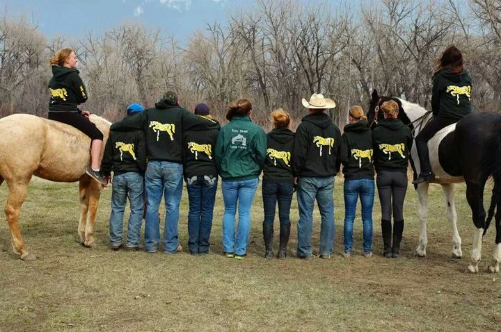 Easy Street Equine Team!! T-Shirt Photo