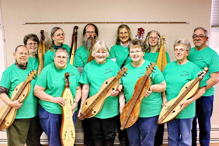Dulcimer Strummers  T-Shirt Photo