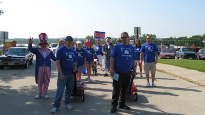 Independence Day Parade T-Shirt Photo