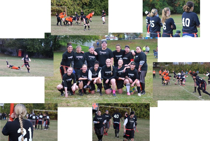 Taggers Flag Football T-Shirt Photo