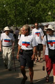 Walking In Uglich T-Shirt Photo