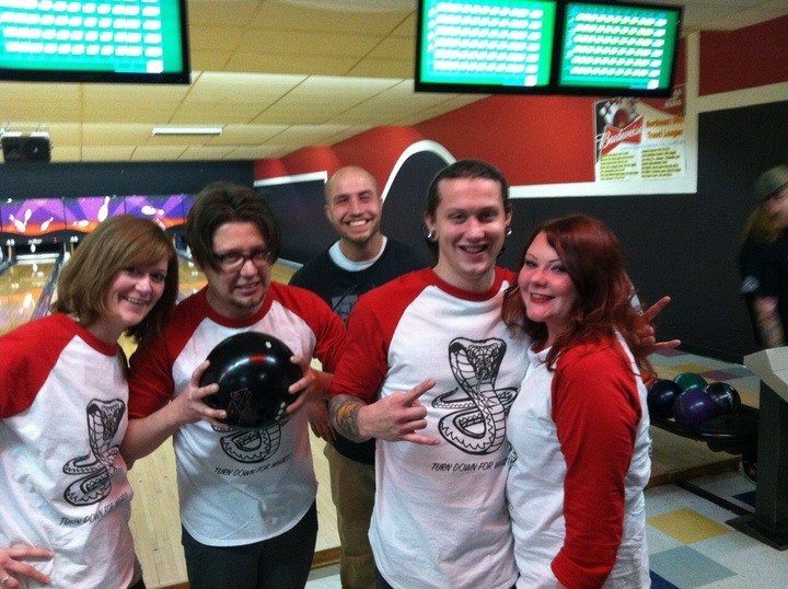 Bowling League T-Shirt Photo