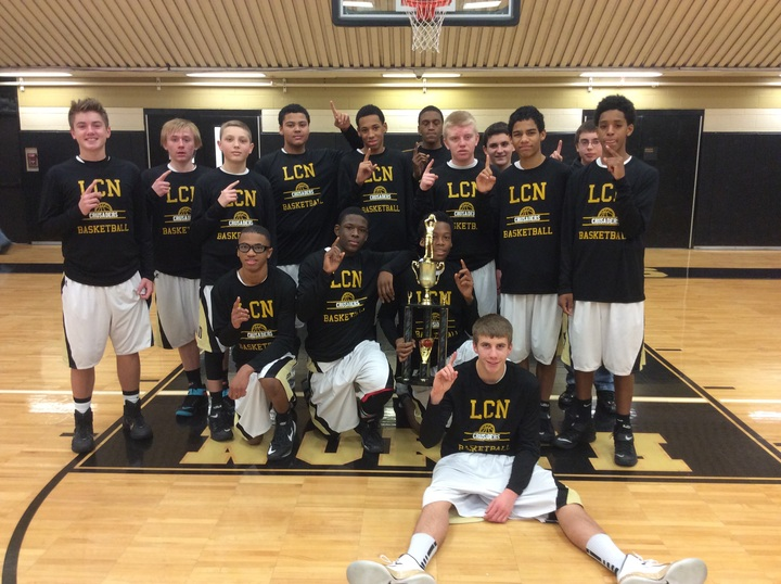Lcn Crusaders Freshman Basketball T-Shirt Photo