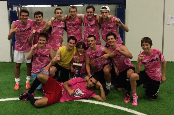 Indoor Soccer Session 1 Champions T-Shirt Photo