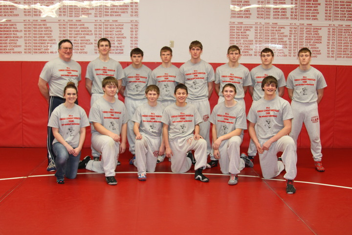 Conrad Cowboy Wrestlers T-Shirt Photo