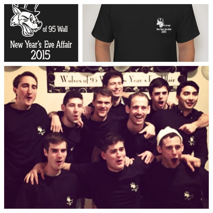 Wolves Of 95 Wall Street New Years Eve Affair T-Shirt Photo