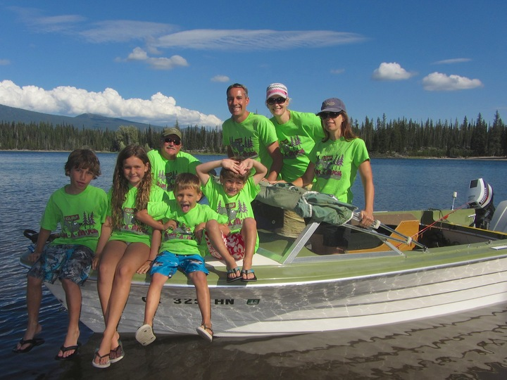 Camp Run A Muck At Elk Lake T-Shirt Photo