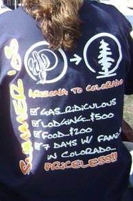Arizona To Colorado T-Shirt Photo