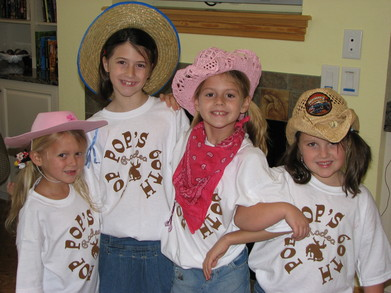 Pop Pop's 60 Th Birthday Rodeo Girls T-Shirt Photo