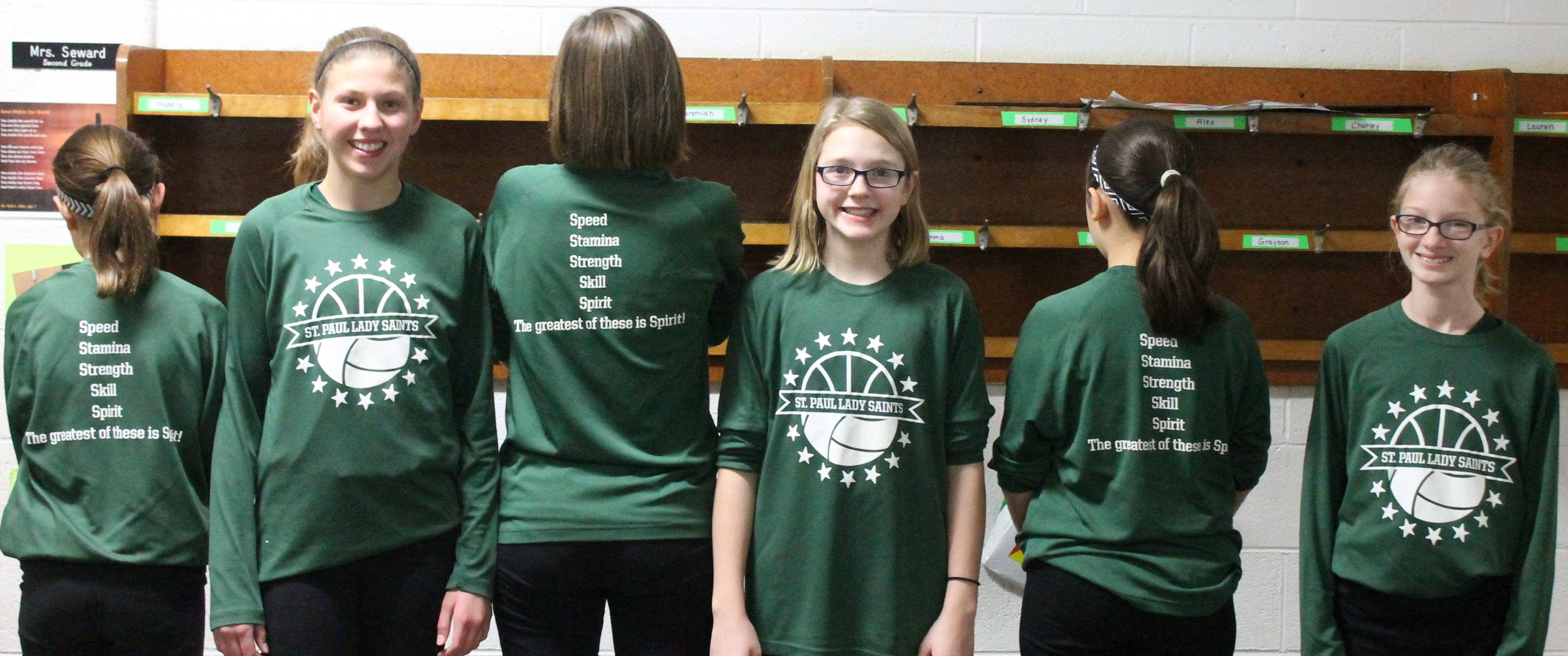 Shirt design ink - St Paul S Volleyball Basketball Warm Ups T Shirt Photo