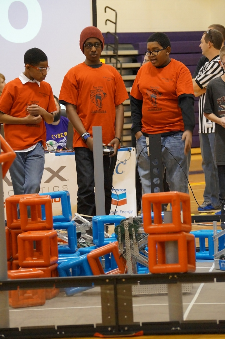 Vex Cyber Shootout Robotic Competition T-Shirt Photo