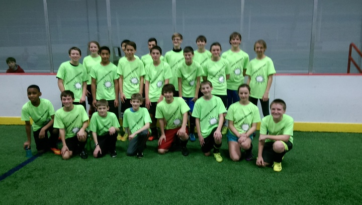 Indoor Soccer Rocks! T-Shirt Photo