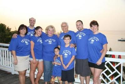 Grandpa's 70th Birthday Jamaican Road Trip T-Shirt Photo