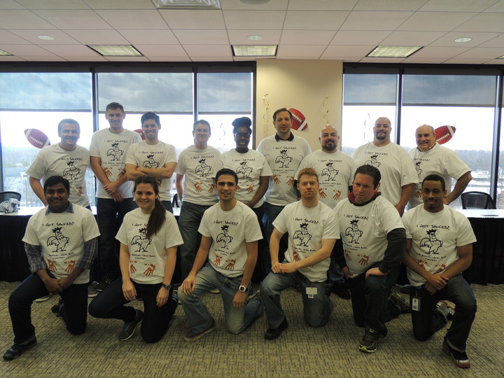 Us Cold Storage Wing Bowl Contest T-Shirt Photo
