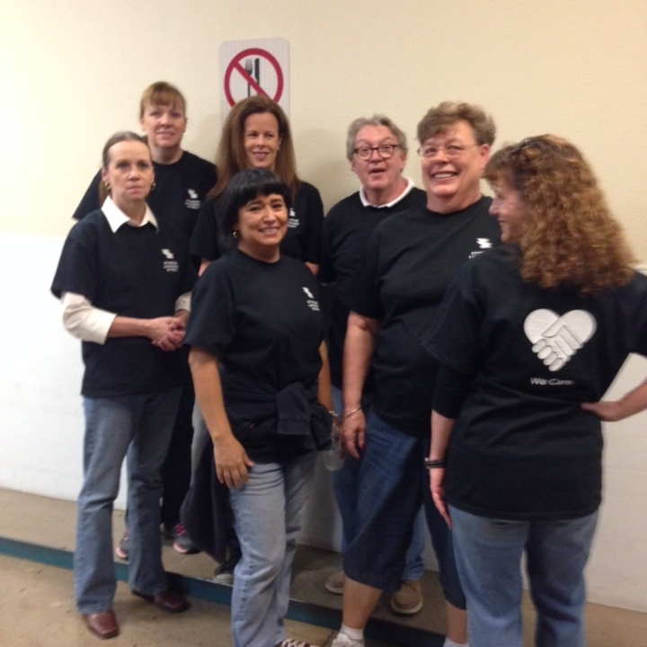 Volunteering At St. Mary's Food Bank  T-Shirt Photo