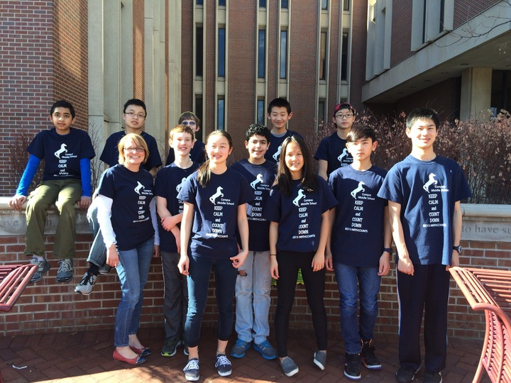 Campus Mathcounts T-Shirt Photo