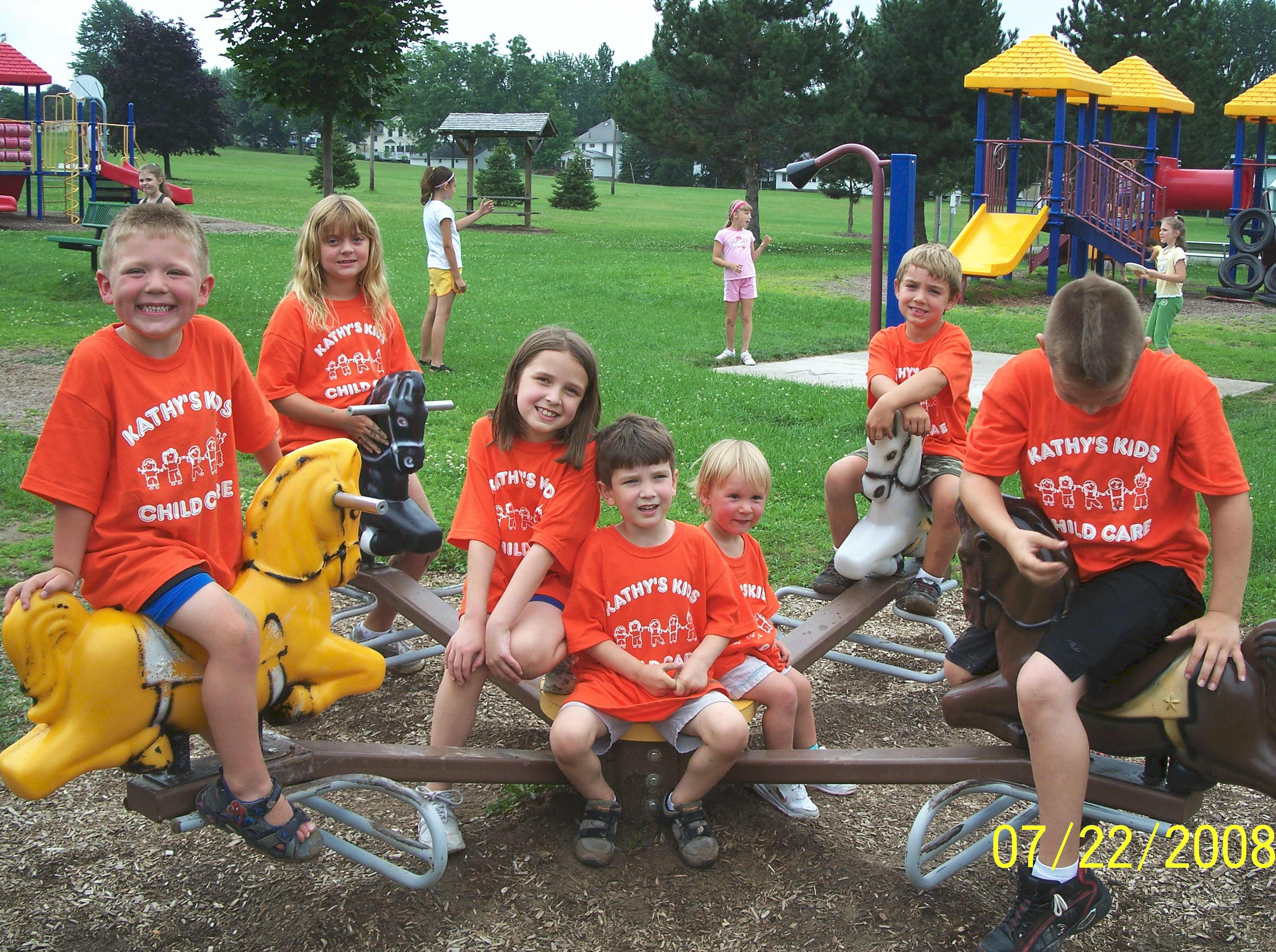Design your own t-shirt for toddlers - Kathy S Kids Child Care Field Trip T Shirt Photo