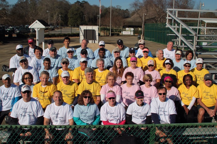 River Region Team Tennis T-Shirt Photo