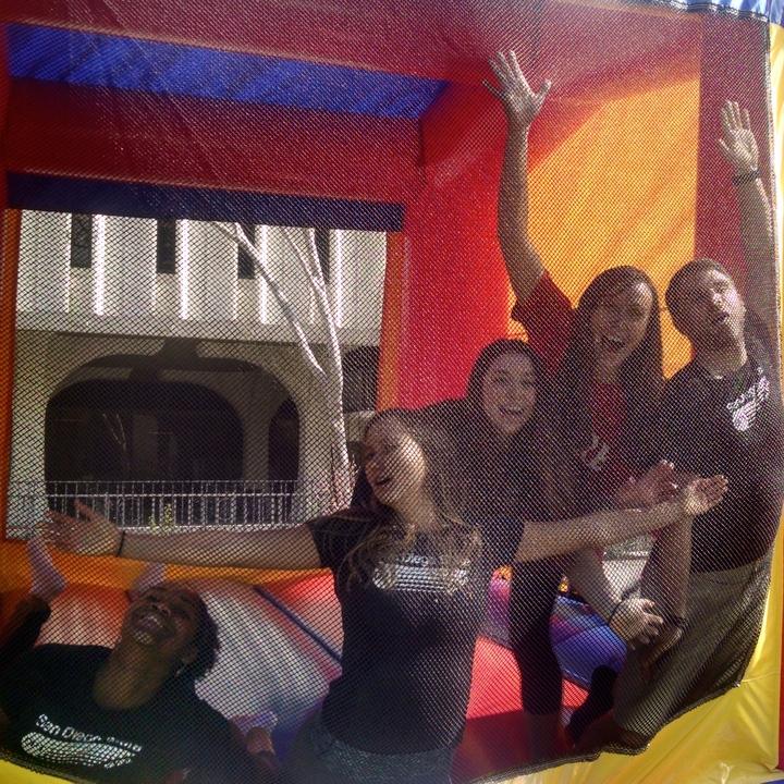 Sdsu Dpt Members At The 2nd Annual Bene Fit Fair! T-Shirt Photo