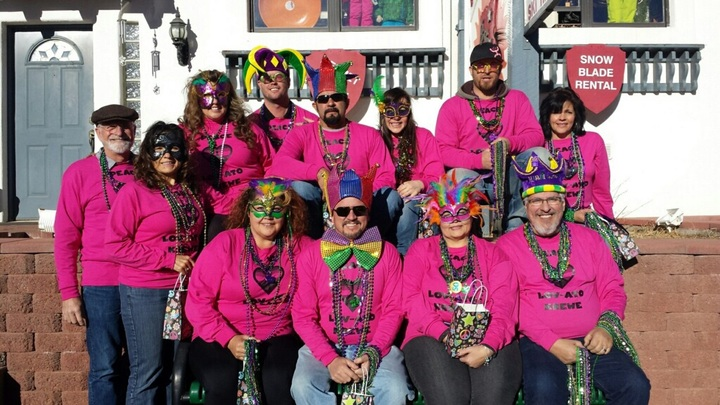 Mardi Gras In The Mountains T-Shirt Photo