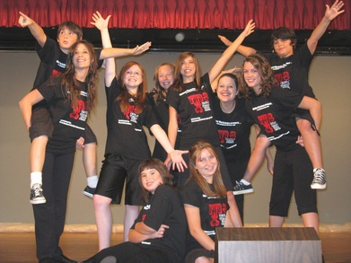 Triple Threat Broadway Stars!!! T-Shirt Photo