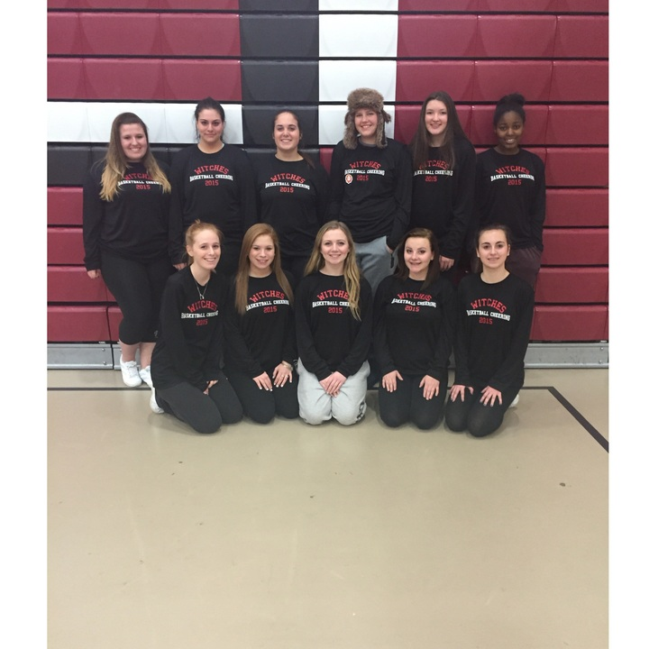 Shs Basketball Cheering T-Shirt Photo