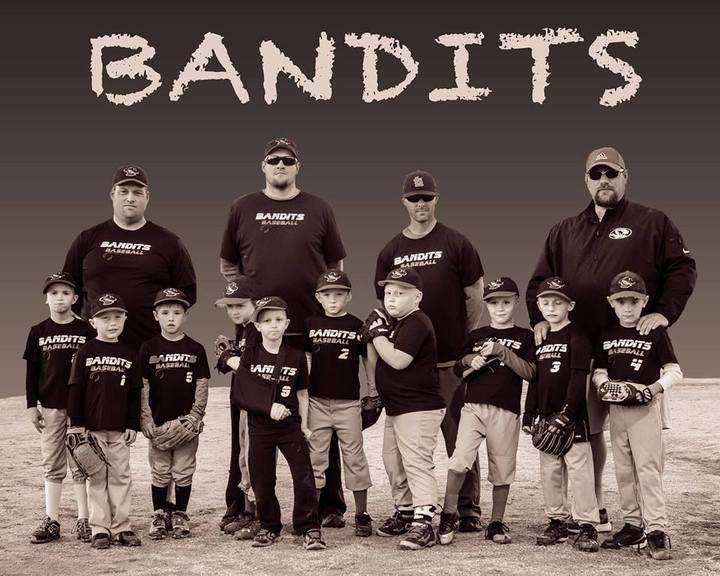 Bandits Baseball Team T-Shirt Photo