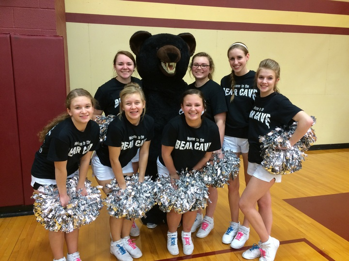 Shs Blackbear Cheerleaders T-Shirt Photo