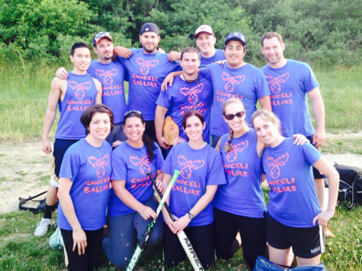 Moose Knuckle Ballers 2014 T-Shirt Photo