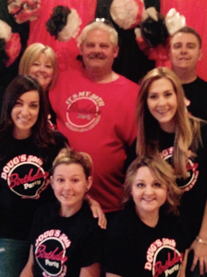 Dougie D's 50th T-Shirt Photo