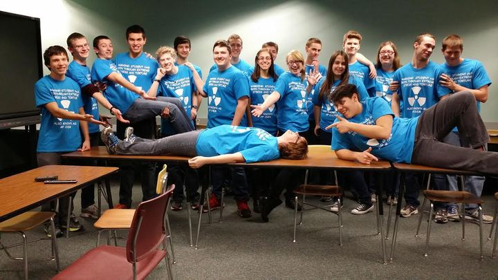 Ap Chemistry Students 2014 15 T-Shirt Photo