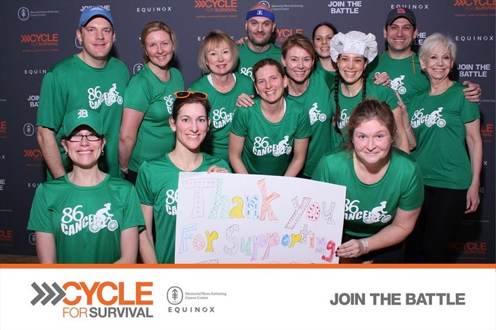 Team 86 Cancer At Cycle For Survival T-Shirt Photo