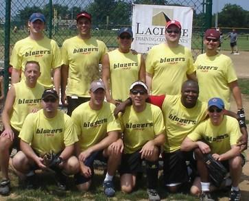 Blazers Softball Team   St Louis, Mo T-Shirt Photo