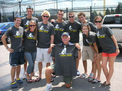 """Very Nice""  2008 Great Lakes Relay Team T-Shirt Photo"