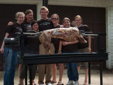 Nu Classics Lamb Roast Seniors 2008! T-Shirt Photo