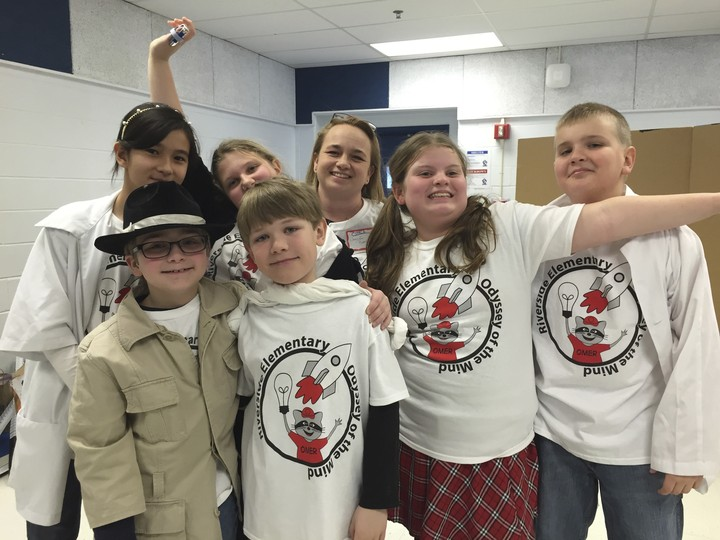 Riverside Odyssey Of The Mind 5th Grade Team 2015 T-Shirt Photo